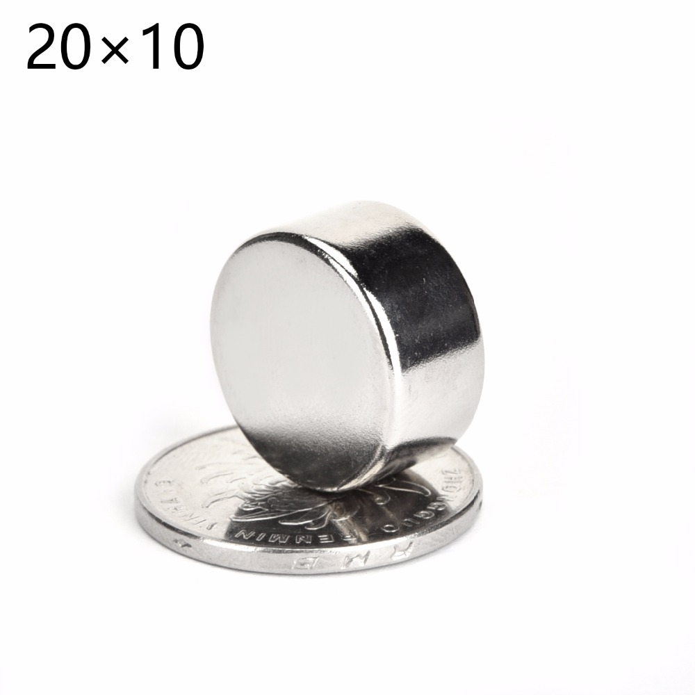 5Pcs/Lot  20mm * 10mm Mini Size Strong Rare Earth NdFeB Magnet 20 x 10 mm Neo Neodymium N50 Magnets Craft Model Sheet arrival 8pc 50 25 12 5mm craft model powerful strong rare earth ndfeb magnet neo neodymium n50 magnets 50 x 25 12 5 mm