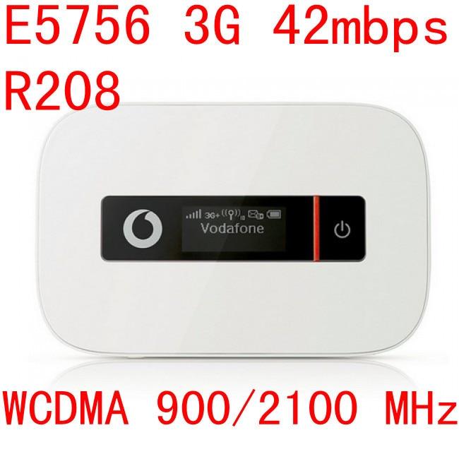 Unlocked Huawei e5756 R208 3g 42Mbps router mifi Mobile Hotspot Pocket 3g mifi HSPA pk r205 r216 e5776 e5786