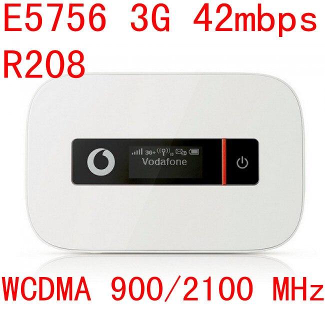 все цены на  Unlocked Huawei e5756 R208 3g 42Mbps router mifi Mobile Hotspot Pocket 3g mifi HSPA pk r205 r216 e5776 e5786  онлайн