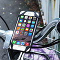 Universal Bicycle Accessories fashion Red and black Bike Mobile Phone Holder Handlebar Clip Bracket GPS Cell Phone Mount Support