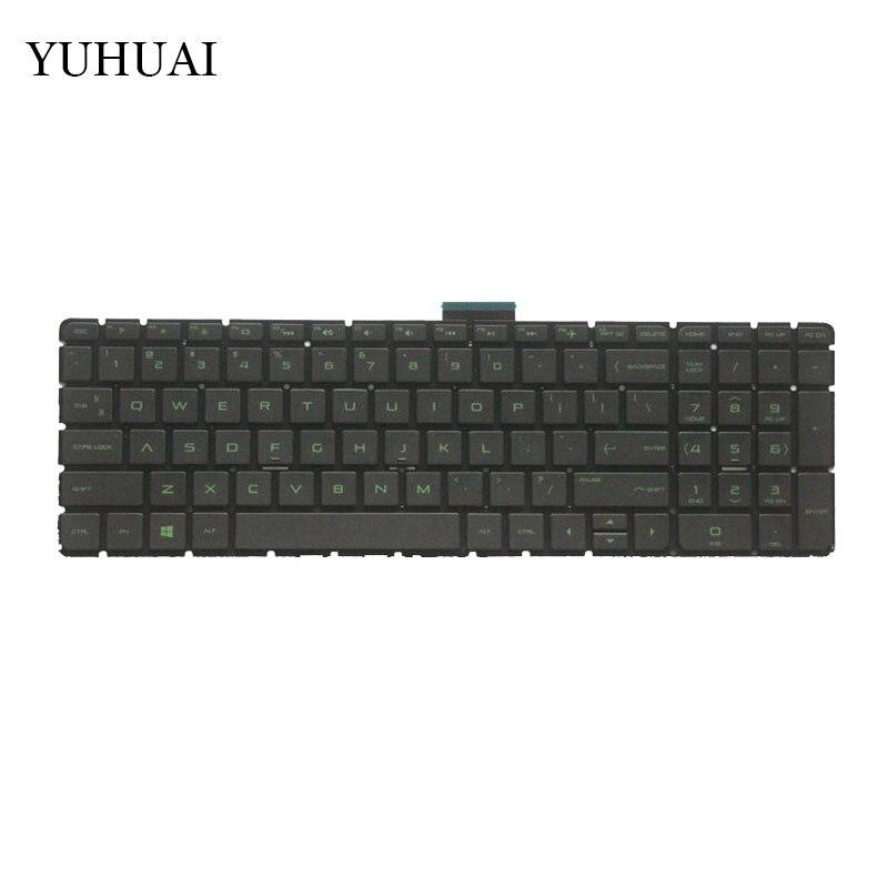 US Laptop Tastatur Für HP Pavilion 15-ab 15-ak 15-ab000 15-ab100 15-ab200 15z-ab100 15z-ab 15AK 15ab Backlit keine Rahmen