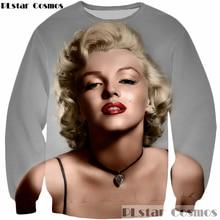 8d65ac635692 PLstar Cosmos New design 2017 Harajuku Men Women 3D Sweatshirt Sexy goddess Marilyn  Monroe print