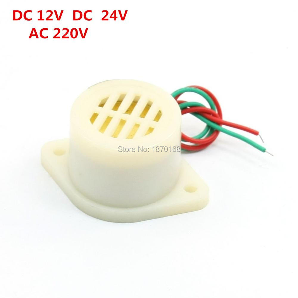 ZMQ-2724 50dB DC 24V 12V AC220V Voltage Music Buzzer Industrial Alarm