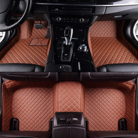 Custom Car Floor Mats For Skoda All Model Octavia RS Fabia Superb Rapid Spaceback GreenLine Joyste