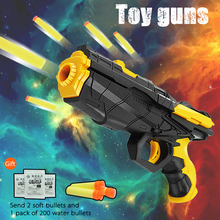 Outdoor Fun Sports font b Toy b font Gun Children Gifts CS Game gun Soft Bullets