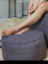 Мешок фасоли османской пуф ywxuege квадратные погремушка стул, пуфик, табурет, подставка для ног Круглые Подушки Диван Кресло