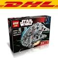 5265Pcs LEPIN 05033 Star Wars Ultimate Collector's Millennium Falcon Model Building Kit Blocks Bricks Toy Compatible Legoe 10179
