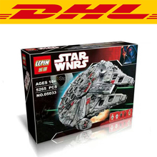 5265Pcs LEPIN 05033 Star Wars Ultimate Collector's Millennium Falcon Model Building Kit Blocks Bricks Toy Compatible Legoe 10179