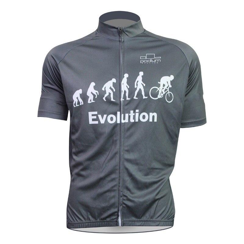 Prix pour 2016 Hommes gris de vélo jersey à manches courtes vélo vêtements Cyclisme Visites sport porter Respirant Confortable