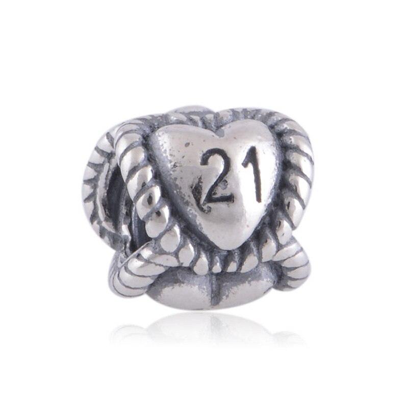 21 Pandora Charm