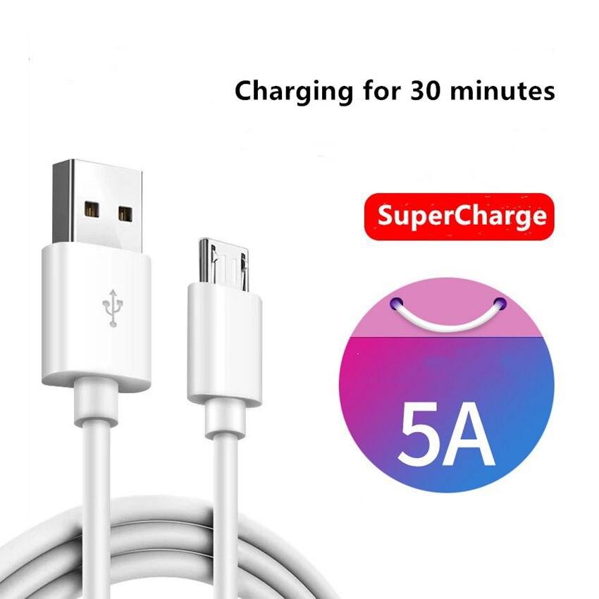 Micro USB кабель 5A Быстрая зарядка Microusb зарядное устройство шнур для Samsung Xiaomi Redmi Note 5 Pro Honor планшет Android, телефон Micro