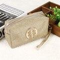 Vintage Travel Cosmetic Bag Make up Bag Portable Cosmetic Organizer Bag Purse Pouch Makeup Zipper Bag Femme Bolsas