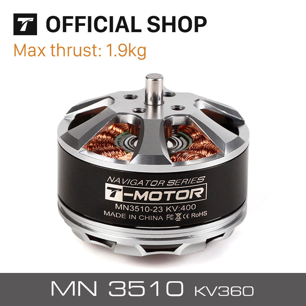T-Motor MN3510 KV360 Remote Control brushless motor for UAV/RTF RC Drones Professional radio Control Motor keyshare dual bulb night vision led light kit for remote control drones