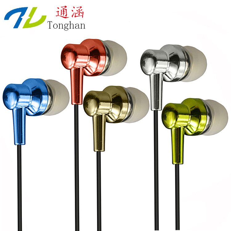 WD20 3.5mm Earphones Headsets Stereo Earbuds For mobile phone MP3 MP4 For PC