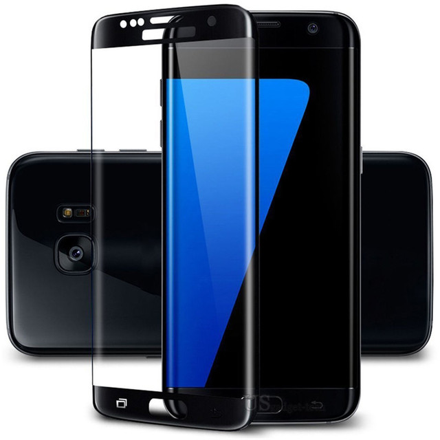 6e7a33edb91 For Galaxy S7 S 7 Edge Gold Tempered Glass Clear Hard Screen Protector  Super 3D Full Cover covered Slim Free Gift Stylus Pen