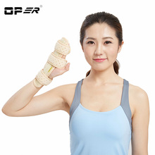 OPER Wrist Support Brace Hand Finger Aluminum Splint Fixator Carpal Tunnel Syndrome Fracture Arthritis Pain Wristbands Medical