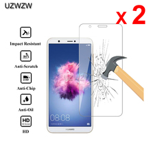 2pcs For Huawei P Smart 2018 Premium 2.5D 0.26mm Tempered Glass Screen Protector