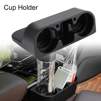 Universal Auto Truck Car Seat Drink Holder Rubbish Case Bin Valet Beverage Can Bottle Food Mount Stand Storage Box image