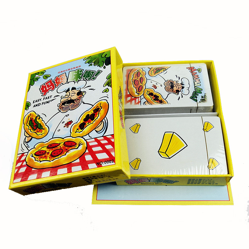 107 PCS Cards Mamma Mia! Board Game Family/Party interesting game Best Gift For Family Sports Entertainment or game fun