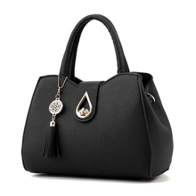 Famous Brand Women Bag Top-Handle Bags 2018 Fashion Women Messenger Bags Handbag Set PU Leather totes Bag