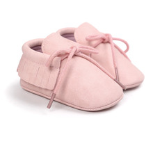 baby pink colors girls moccasins infant newborn shoes with p