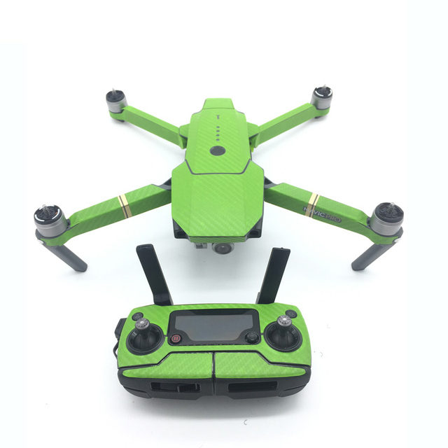 Waterproof Carbon Graphic Stickers Skin Decals Wrap Drone Body Remote Control Battery Arm tags for DJI MAVIC PRO paster Decal
