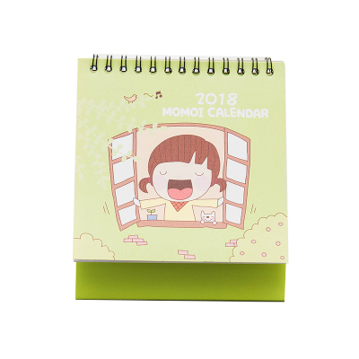 2018 Lovely Cute Cartoon Animals Series Memo Calendar Note Desktop Plan Calendar Small Desk Calendar Lunar Calendar Agenda 2018