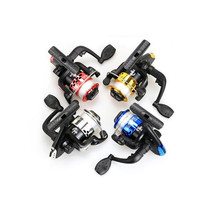 DSstyles Sport Plastic Electroplating Spinning Wheel Fishing Vessel 5.1:1 Baitcasting Fishing Reel Spinning Reel 40-50m Length