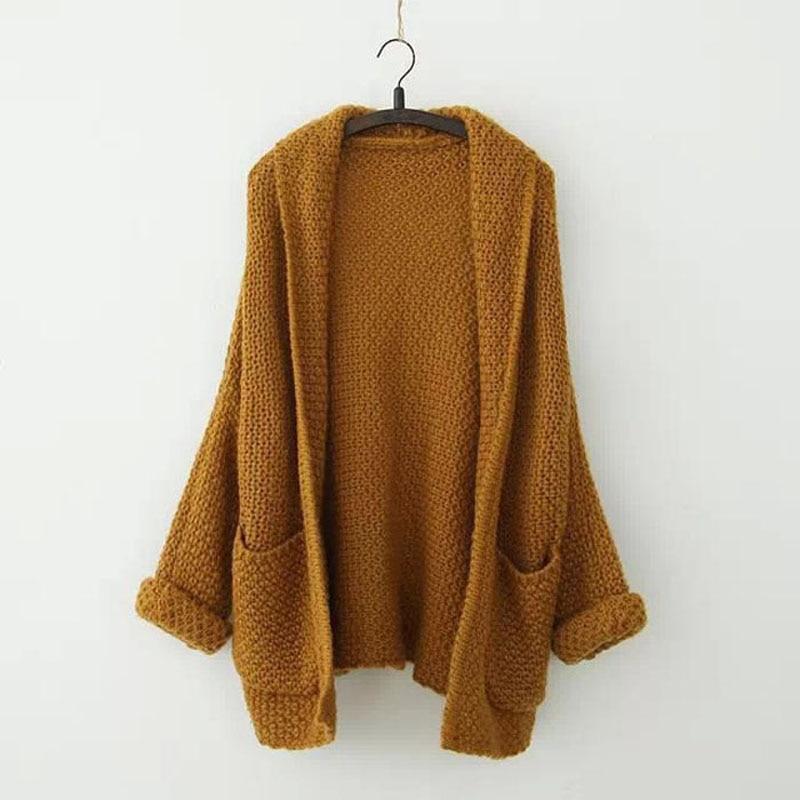 Women sweater winter, fashion brand women cardigan bat sleeve ...
