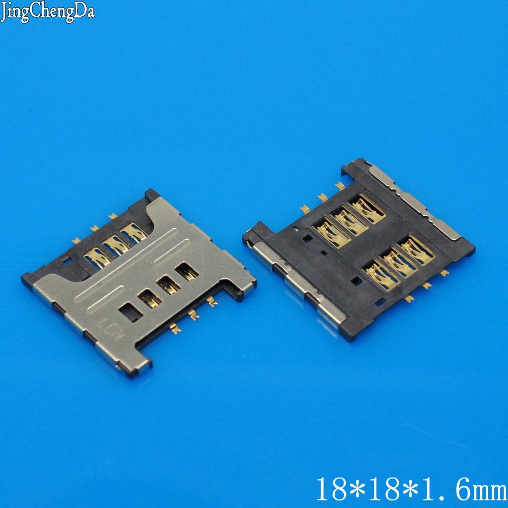 Jing Cheng Da New Sim Card reader tray slot adapters for Samsung I9000 I9220 N7000 S5690 W689 S5360 S5570 sim card socket module