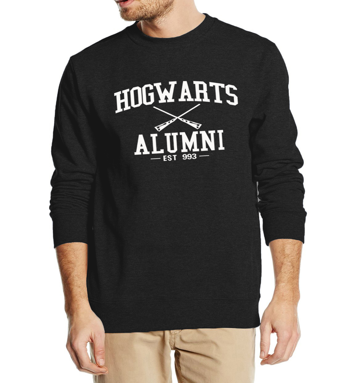 Hogwarts Alumni Inspired Magic Men Hoodies 2019 spring winter man sweatshirt hip hop style hooded brand clothing movie fans