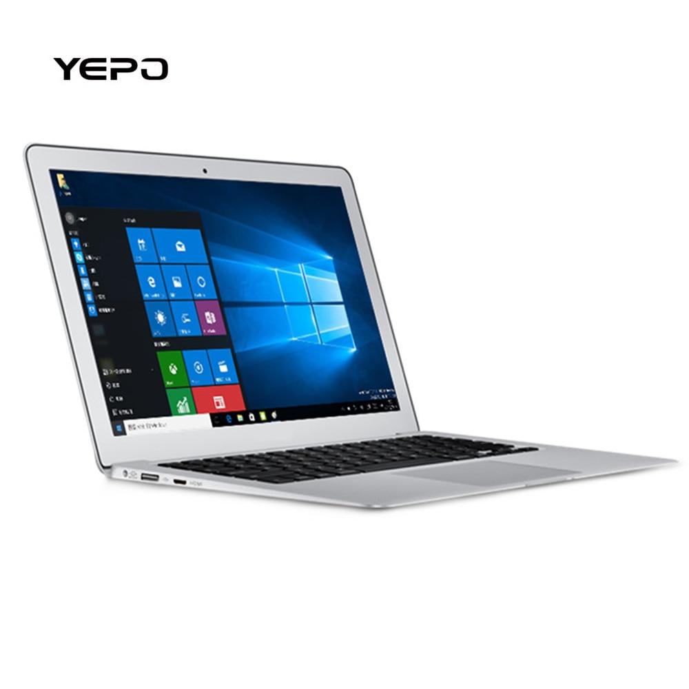 YEPO 737T WIFI Laptop Windows 10 Bluetooth 14Inch Intel Baytrail Z8350 16:9 Quad
