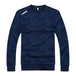 Image 2 - 男性の大サイズのスウェットシャツ長袖 6XL 7XL 8XL 9XL 10XL カジュアル迷彩黒青少年トレーナー
