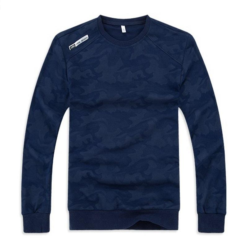 Image 2 - Mens large size sweatshirt long sleeve round neck loose 6XL 7XL 
