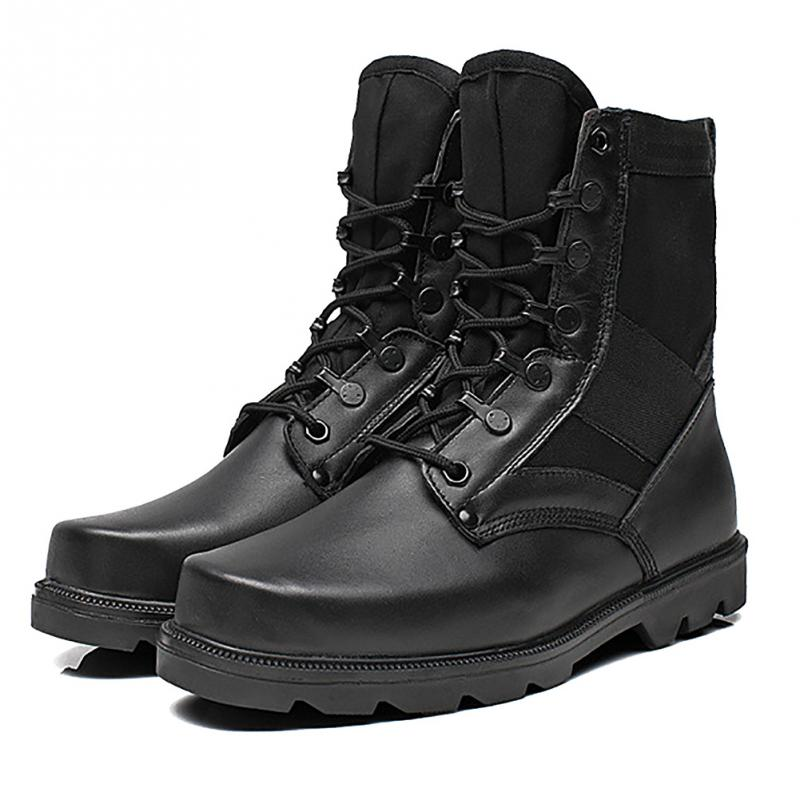 Black Combat Boots Promotion-Shop for Promotional Black Combat ...
