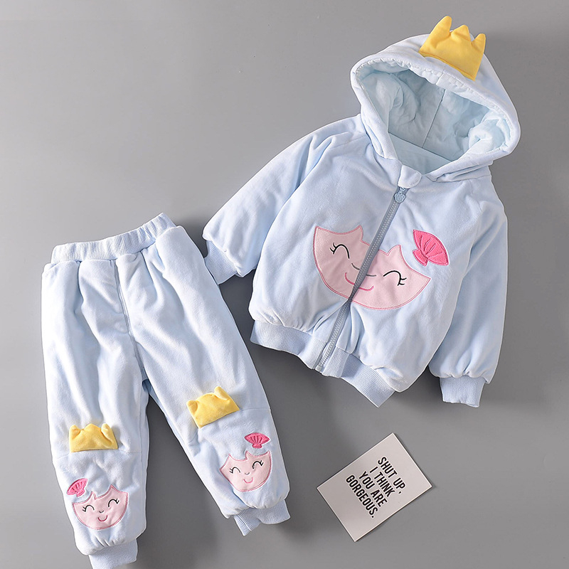 Clothing Sets For Boys Girls Baby Christmas Costume Pajamas For Baby Clothes New Year's Suit Jackets Warm Cotton Kids Carnival lovely spring new year cotton long sleeves baby kids children suits boys pajamas christmas girls clothing sets clothes