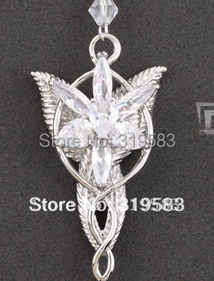 fashion pendant Amulet The Lord of the Rings Elven ...