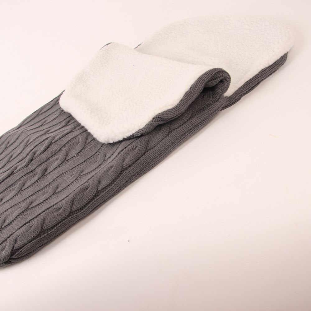 ARLONEET ทารกแรกเกิดเด็กกระเป๋ารถเข็นเด็กทารก sleeping pad ฤดูหนาวกำมะหยี่อบอุ่น Swaddle นอน Wrap CS09