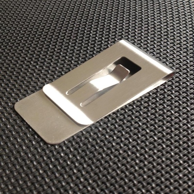 Simple metal money clip hollow design credit card business card simple metal money clip hollow design credit card business card holder clamp for man money wallet colourmoves