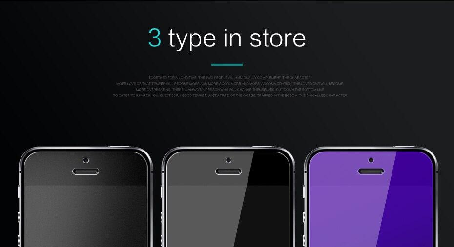 CHYI bez odcisków palców matowe szkło dla iphone 5s SE 5C ochraniacz ekranu oleofobowa powłoka 9 H dla iphone 7 8 plus xs Max XR szkło 5