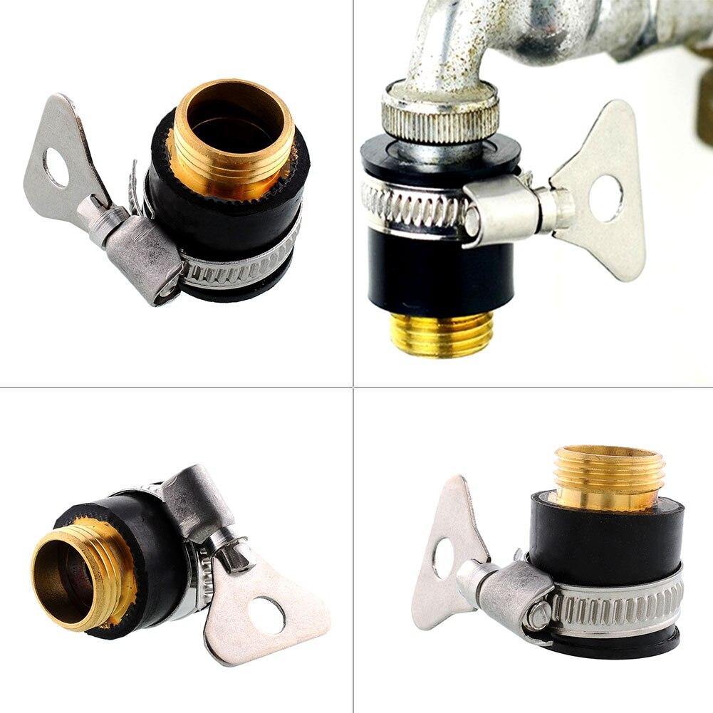 Универсальные водопроводные коннекторы, адаптер для садового водяного шланга, смеситель для полива душа, штуцер для мойки труб
