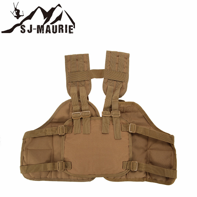 Outdoor Hunting Vest chalecos airsoft  Chest Bag 4