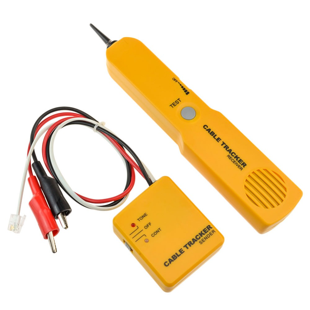 RJ45 Network Cable Continuity Tester Telephone Line Cable Tracker ...