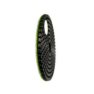 Image 3 - RIJILEI 10 pièces/lot 4 pouces/100mm tampons de polissage humide/tampons de polissage en granit/tampon de polissage diamant pour outils de diamant en marbre (4DS1)
