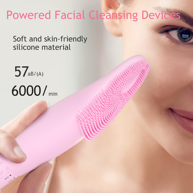 Soft Silicone Foreo Facial Cleansing Brush Face Massager Facial Cleanser Silicon Facial Cleaning Brush Vibrator