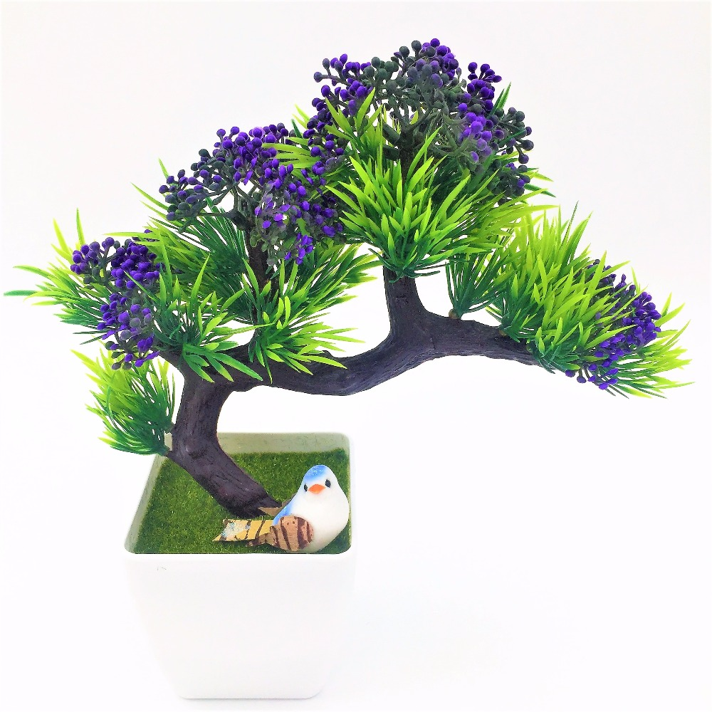 2017 new arrival artificial decorative flowers wreaths plants tree