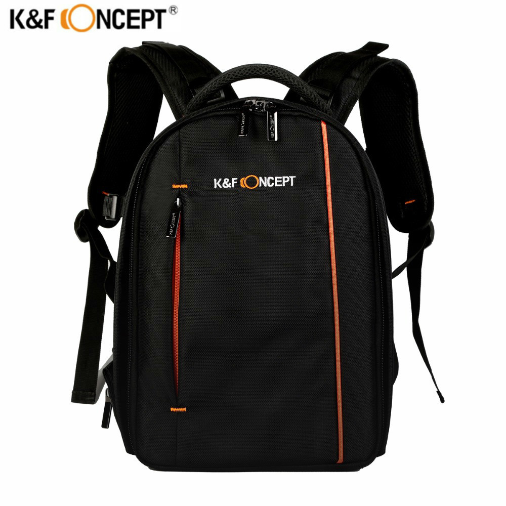 K&F Concept High quality Waterproof DSLR SLR Camera Backpack Bag Case Multifunctional Rucksack for Nikon for Canon for Sony fly leaf camera bag backpack anti theft camera bag with 15 laptop capacity for dslr slr camera