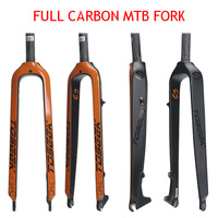 2018 TOSEEK Mtb Full Carbon Fiber Bicycle Fork 3K Gloss And Matt 1 1 8 Hard