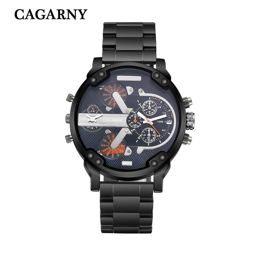Luxury Men brand dz Watches montre stainless steel Strap Quartz Watch reloj hombre Military Sports Male Clock relogio masculino