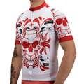Hommes vélo vêtements bavoir court ensemble 2020 crâne été cyclisme maillot vtt vélo vêtements homme sport vêtements Pro uniforme robe kit costume